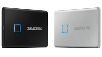 Samsung T7 Touch é um SSD portátil com leitor de impressão digital