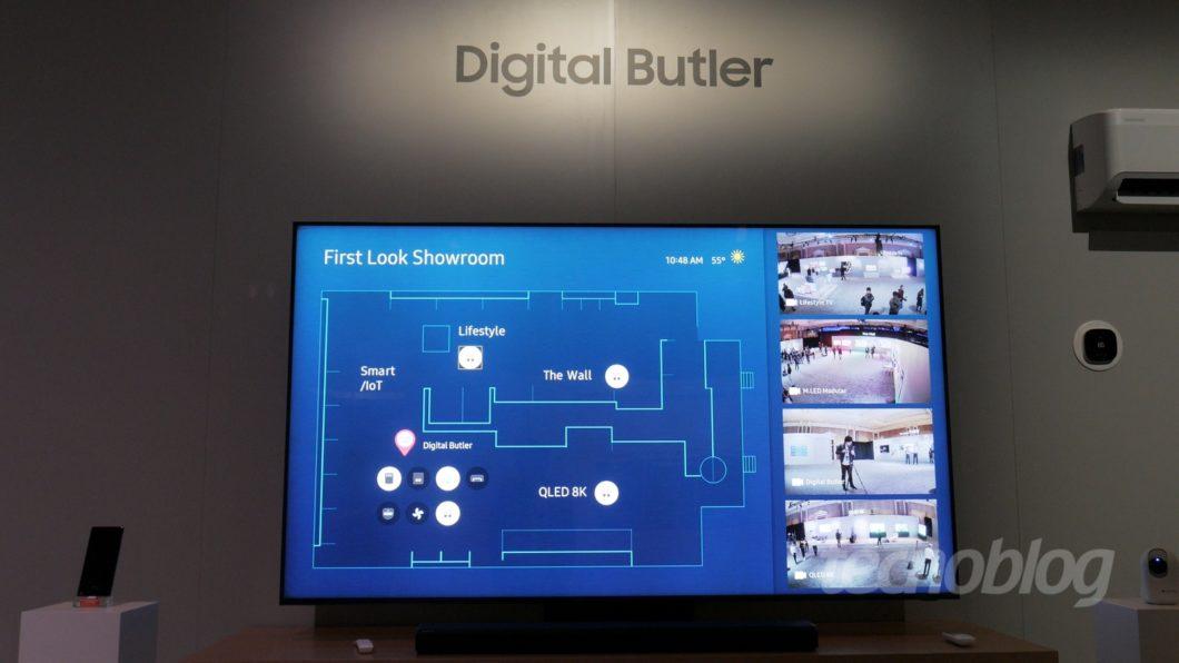 CES 2020 / TVs da Samsung