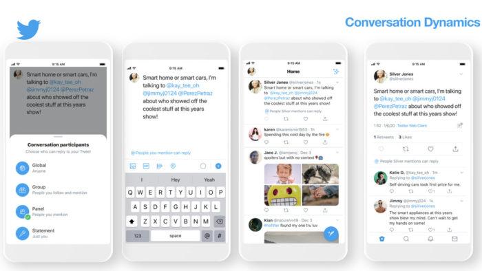 Twitter testa recurso que limita respostas a tweets