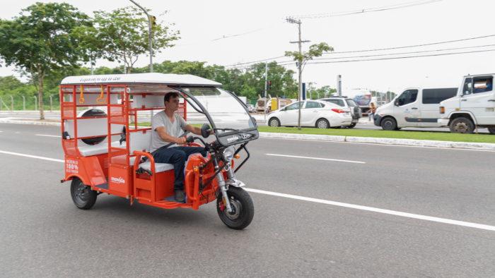 Uber - tuk-tuk em Vitória (ES)