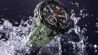 Amazfit T-Rex é o smartwatch com resistência militar da Xiaomi