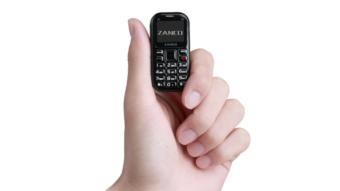 Zanco tiny t2 é o menor celular do mundo com 3G e câmera