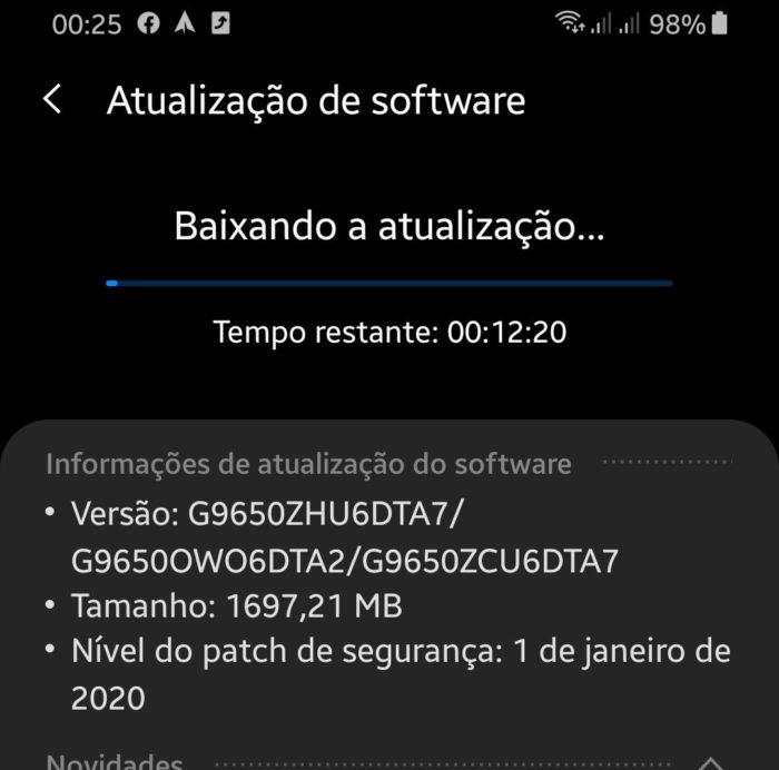 Samsung Galaxy S9+ recebe Android 10