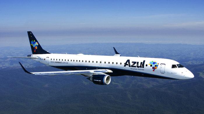 Avião da Azul / modo avião