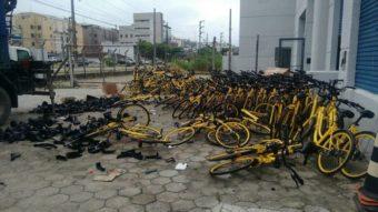 Bicicletas da Yellow estão sendo recicladas em SC, afirma empresa