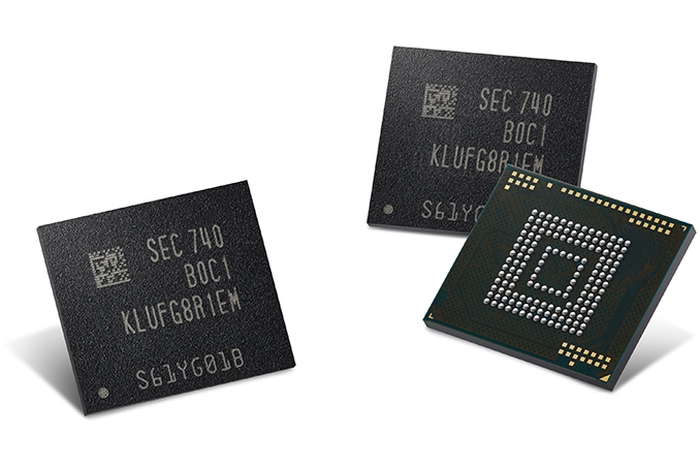 Chips UFS da Samsung