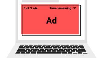 Google Chrome vai bloquear anúncios invasivos em vídeos