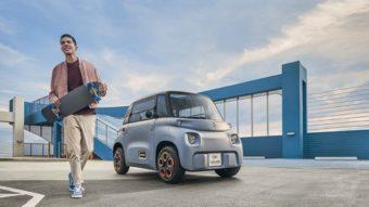 Citroën Ami é um carro elétrico barato que não requer habilitação