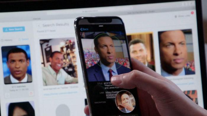 Clearview tem três bilhões de imagens para reconhecimento facial (Foto: Reprodução/CBS News)