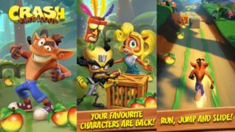 Crash Bandicoot Mobile, jogo exclusivo para celular, é vazado
