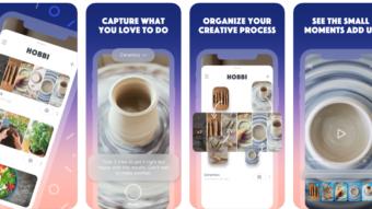 Hobbi é um clone do Pinterest que organiza fotos e cria vídeos