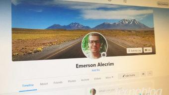 Testei o layout do novo Facebook e estas são as mudanças