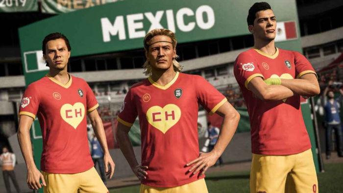 Uniforme de Chapolin Colorado no FIFA 20 (Foto: Divulgação/EA Sports)