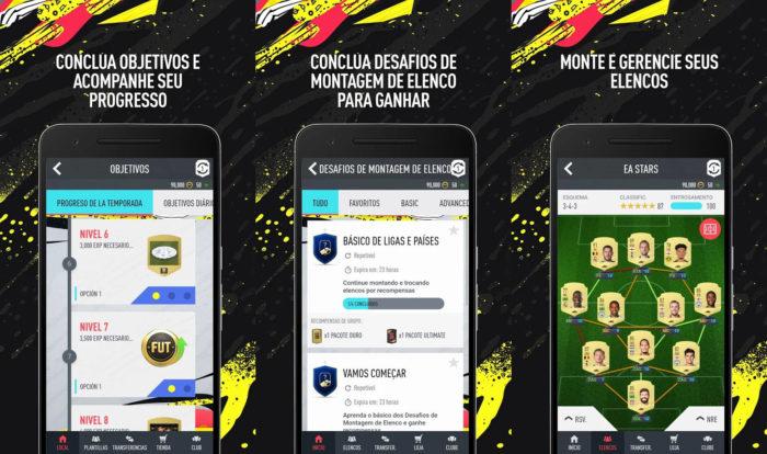 Android / FIFA 20 Companion / como jogar fifa 20