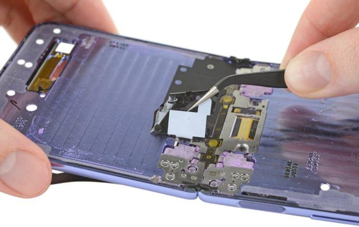 Desmonte do Galaxy Z Flip - iFixit