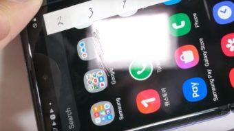 Tela do Galaxy Z Flip apresenta resistência semelhante ao plástico