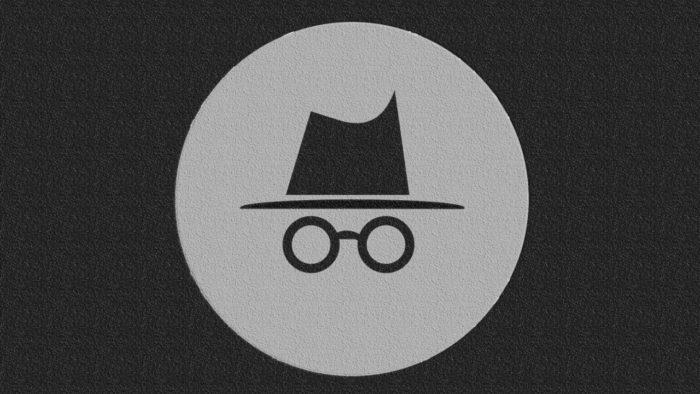 Google / modo anônimo do Google Chrome