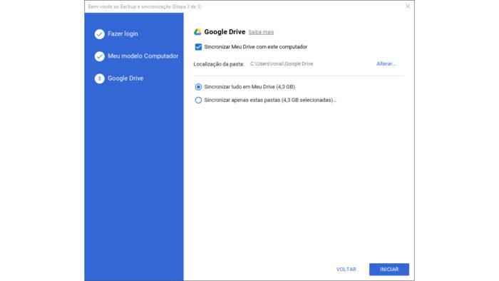 Google / Backup e Sincronização / como fazer backup google docs