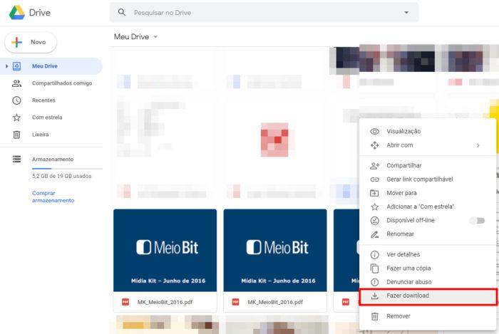Google / Google Drive / como fazer backup google docs