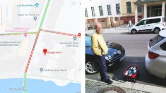 Artista cria engarrafamento falso no Google Maps com 99 celulares
