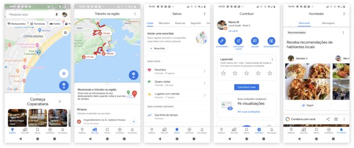 Google Maps - Novo app