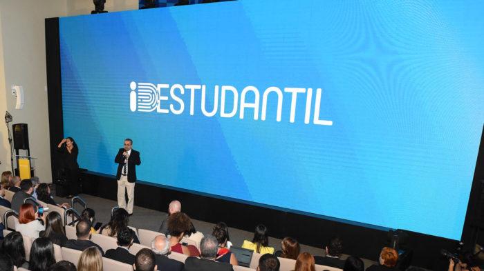Abraham Weintraub, ministro da Educação, no lançamento do app ID Estudantil (Foto: Luis Fortes/MEC - 25/11/2019)