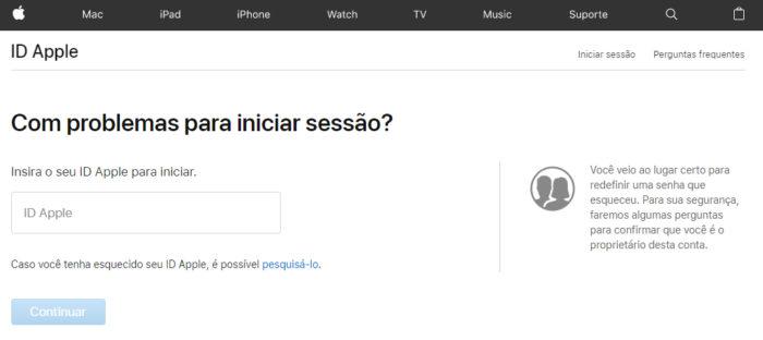 Apple / iForgot