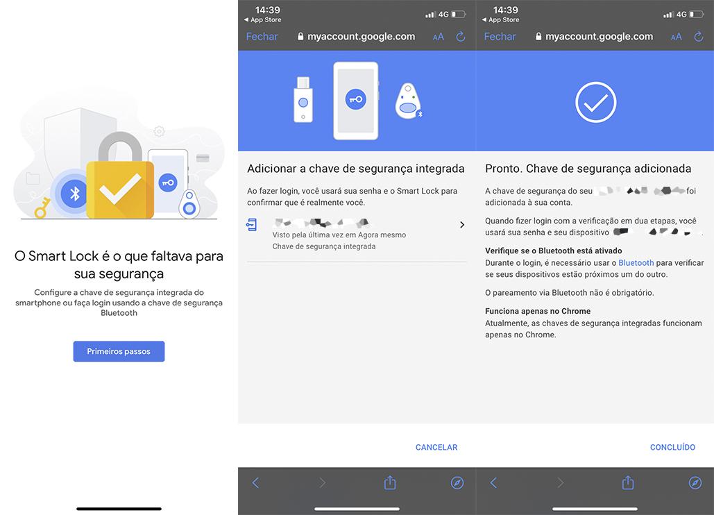 Como transformar o iPhone numa chave de segurança do Google