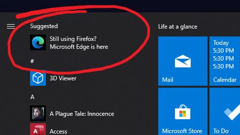 Microsoft Edge: ainda usando Firefox?