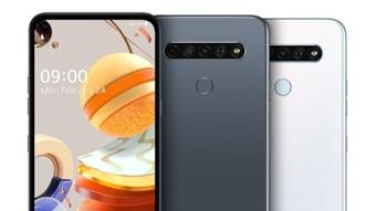 LG K61, K51S e K41S trazem câmera quádrupla de até 48 megapixels