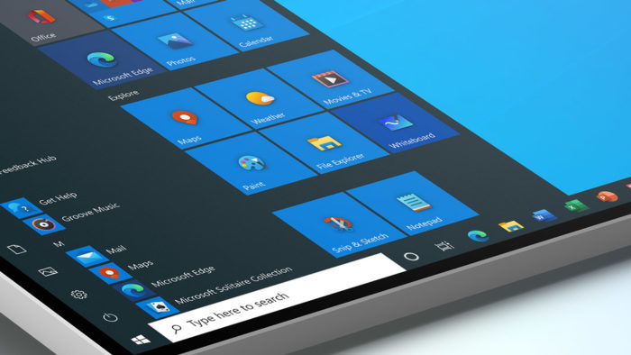 Novos ícones da Microsoft para o Windows 10
