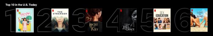 Netflix - top 10