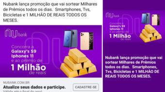 Nubank: golpes para roubar dados se espalham pelo Instagram e Facebook