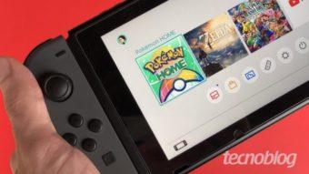Nintendo dá desconto de até 50% em jogos de Switch na eShop