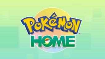 Pokémon Home está disponível para mover Pokémon entre jogos