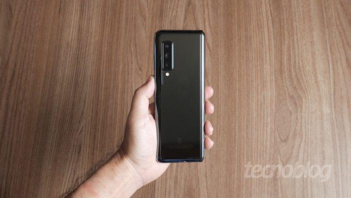 Sucessor de Galaxy Fold (foto), Samsung Galaxy Z Fold 2 deve trazer câmeras de Galaxy S20