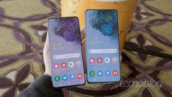 Samsung Galaxy S21 e S21+ devem adotar tela sem bordas curvas