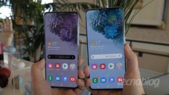 Samsung antecipa vendas do Galaxy S20 e Galaxy S20+ no Brasil