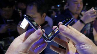 Samsung Galaxy Z Flip: uma olhada de perto no dobrável