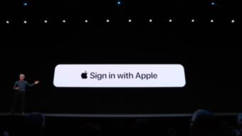 Como ver sites e aplicativos em que usei Apple Login
