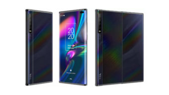 TCL exibe celulares com tela expansível e duplamente dobrável