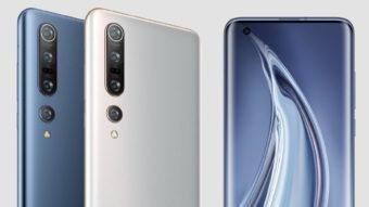 Xiaomi apresenta edição global do Mi 10 e Mi 10 Pro