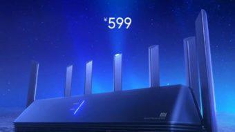 AIoT Router AX3600 é o primeiro roteador da Xiaomi com Wi-Fi 6