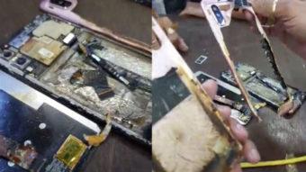 Xiaomi Redmi Note 6 Pro pega fogo na Índia durante conserto