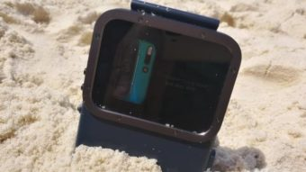 Como usar o modo subaquático da câmera do Android
