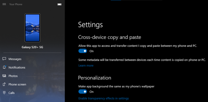 Windows 10 copiar e colar