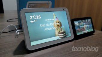 Amazon lança alto-falante Echo Show 8 com Alexa no Brasil