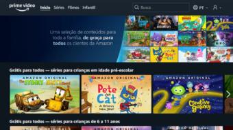 Amazon Prime Video oferece séries infantis grátis no Brasil