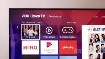 AOC S5195: a estreia do Roku TV no Brasil