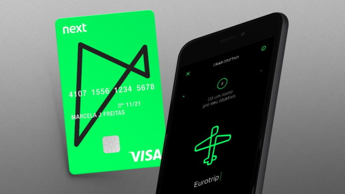 Cartão do Banco Next (Imagem: Divulgação/Next)